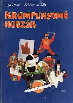 Krumplinyomó huszár című könyvünk borítója