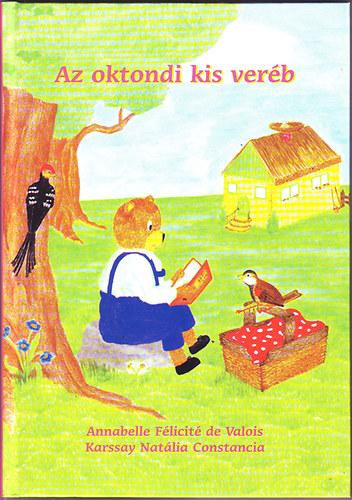 Az oktondi kis veréb című könyvünk borítója