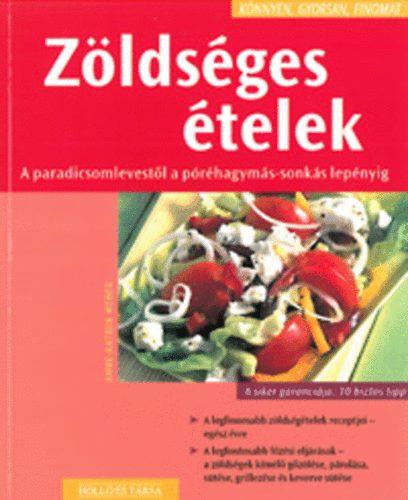 Zöldséges ételek című könyvünk borítója