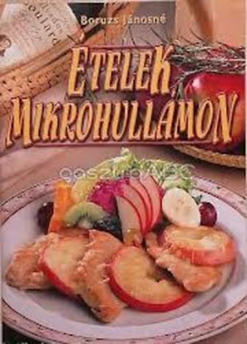 Ételek mikrohullámon című könyvünk borítója