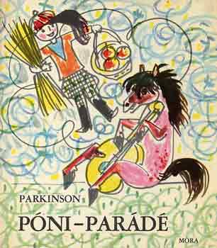 Póni-parádé című könyvünk borítója