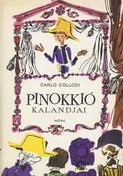 Pinokkió kalandjai című könyvünk borítója