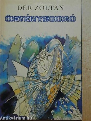 Örvénysodró című könyvünk borítója