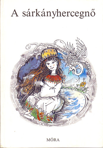 A sárkányhercegnő című könyvünk borítója