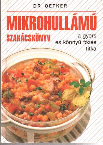 Mikrohullámú szakácskönyv-a gyors és könnyű főzés titka című könyvünk borítója