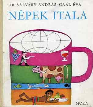 Népek itala című könyvünk borítója