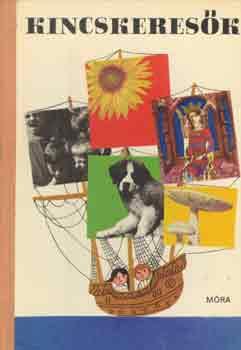 Kincskeresők című könyvünk borítója