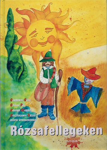 Rózsafellegeken című könyvünk borítója