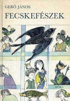 Fecskefészek című könyvünk borítója