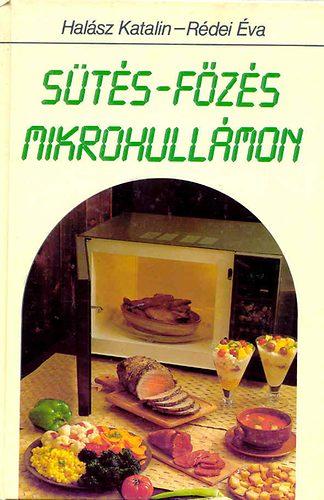 Sütés-főzés mikrohullámon című könyvünk borítója