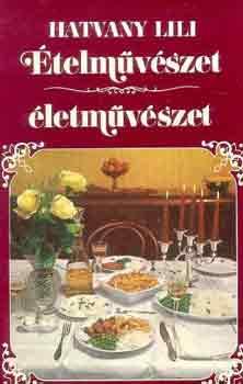 Ételművészet, életművészet című könyvünk borítója