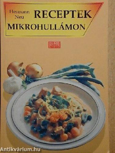 Receptek mikrohullámon című könyvünk borítója