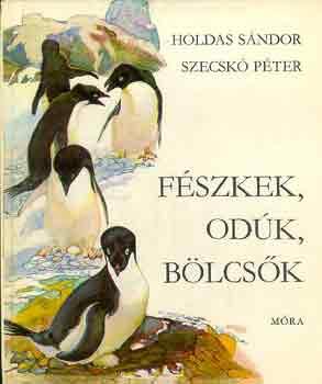 Fészkek, odúk, bölcsők című könyvünk borítója
