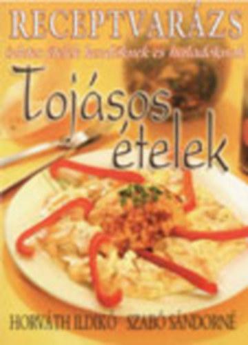 Receptvarázs - Tojásos ételek című könyvünk borítója
