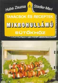 Tanácsok és receptek mikrohullámú sütőkhöz című könyvünk borítója