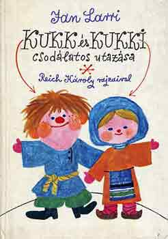 Kukk és Kukki csodálatos utazása című könyvünk borítója