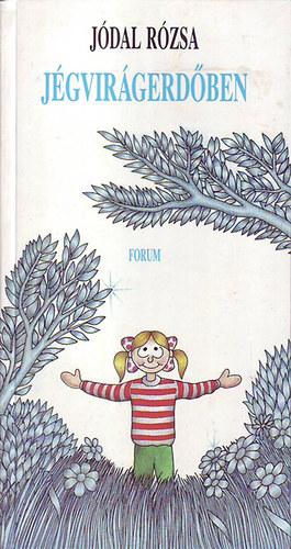 Jégvirágerdőben című könyvünk borítója