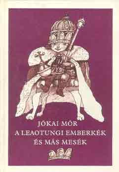 A leaotungi emberkék és más mesék című könyvünk borítója