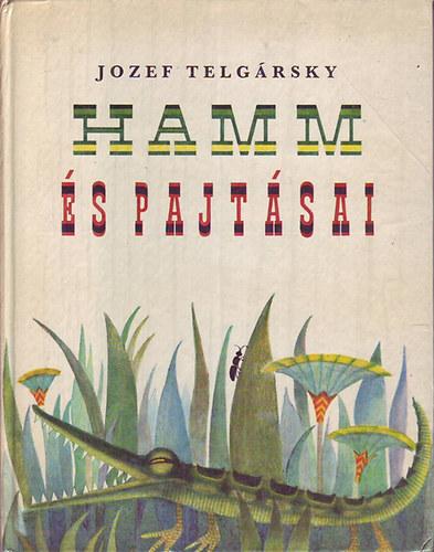 Hamm és pajtásai című könyvünk borítója