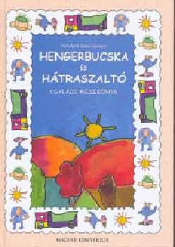 Hengerbucska és hátraszaltó című könyvünk borítója