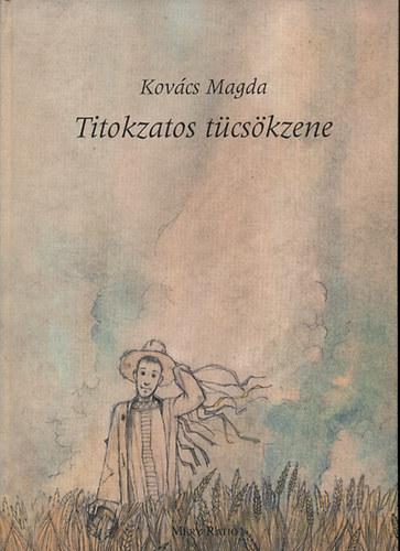 Titokzatos tücsökzene című könyvünk borítója