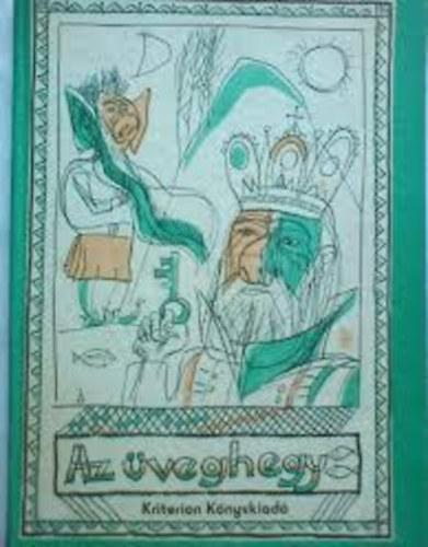 Az üveghegy című könyvünk borítója