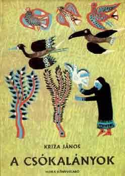 A csókalányok című könyvünk borítója