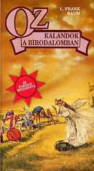 Oz-Kalandok a birodalomban című könyvünk borítója