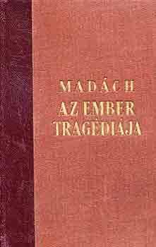Az ember tragédiája  című könyvünk borítója