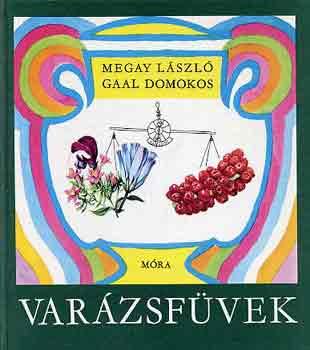 Varázsfüvek című könyvünk borítója