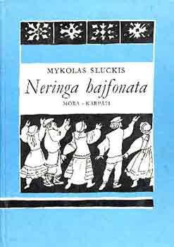 Neringa hajfonata című könyvünk borítója