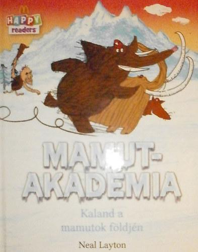 Mamutakadémia - Kaland a mamutok földjén című könyvünk borítója