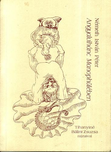Angyalvihánc Manophülében című könyvünk borítója
