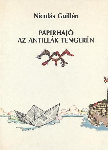 Papírhajó az Antillák tengerén című könyvünk borítója