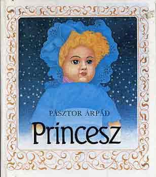 Princesz című könyvünk borítója