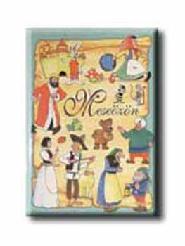 Meseözön című könyvünk borítója