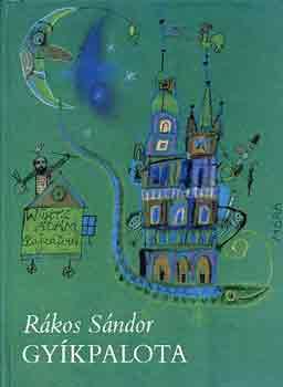 Gyíkpalota című könyvünk borítója