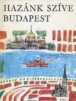 Hazánk szíve Budapest című könyvünk borítója