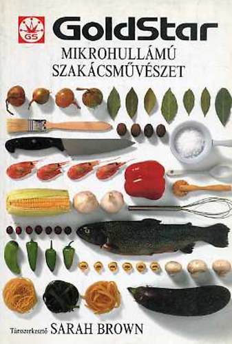 Mikrohullámú szakácsművészet című könyvünk borítója