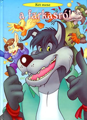 Két mese a farkasról című könyvünk borítója