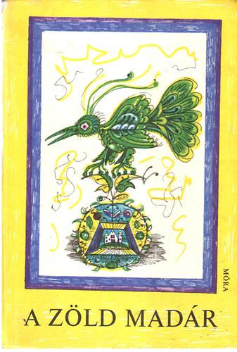A zöld madár című könyvünk borítója