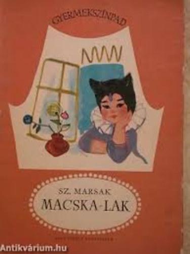 Macska-lak (Gyermekszínpad) Mesejáték 3 képben című könyvünk borítója