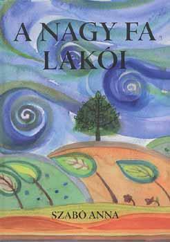 A nagy fa lakói című könyvünk borítója