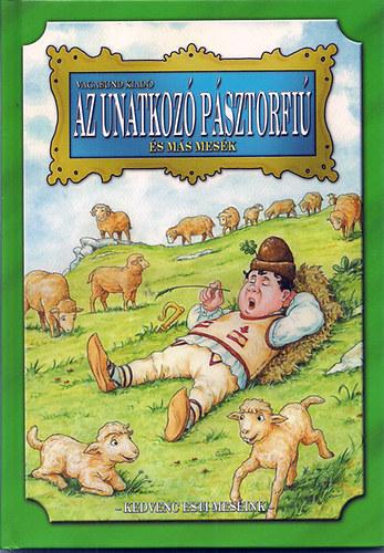 Az unatkozó pásztorfiú és más mesék című könyvünk borítója