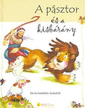 A pásztor és a kisbárány című könyvünk borítója