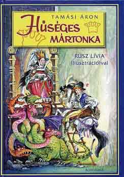 Hűséges Mártonka című könyvünk borítója