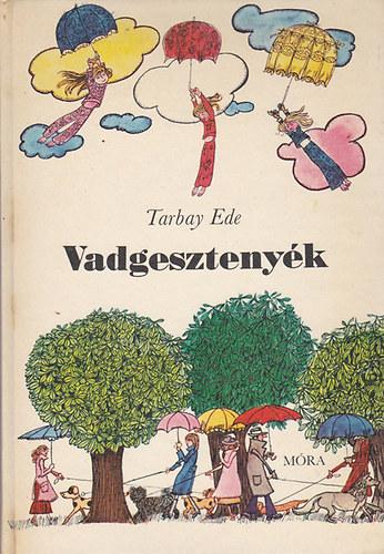 Vadgesztenyék című könyvünk borítója