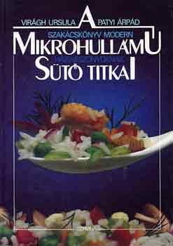 A mikrohullámú sütő titkai című könyvünk borítója