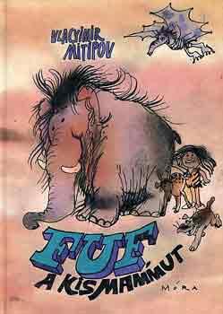 Fuf, a kismammut című könyvünk borítója