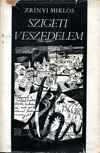 Szigeti veszedelem című könyvünk borítója